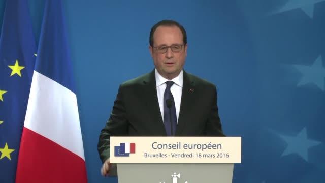 French President François Hollande on Friday reacted to the arrest of Paris attacks suspect Salah Abdeslam