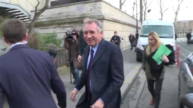French presidential hopeful Emmanuel Macron and the leader of French MoDem centrist party François Bayrou met on Thursday in Paris the day after...
