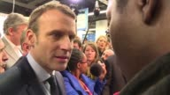French presidential hopeful Emmanuel Macron on Thursday evaded questions about his popularity during a visit to a French business trade show saying...