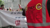 French trade unions extended their strike into a third day saying they would consider government proposals but if accepted would only lift the travel...