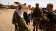 French troops working as part of an anti terrorist operation patrol towns and villages in northern Mali an area around the size of France which was...