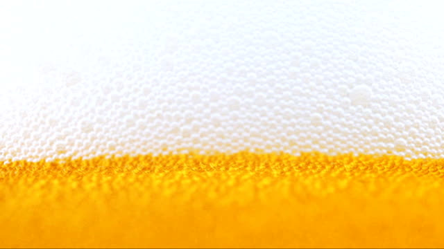 Fresh beer. Close up view.