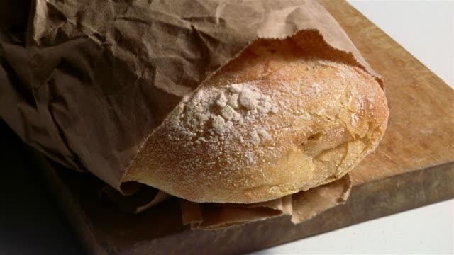 ECU fresh bread in paper bag