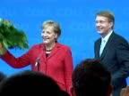 Fresh from an election victory Angela Merkel now is to steel herself for a rash of problems as German chancellor including an ailing economy and...