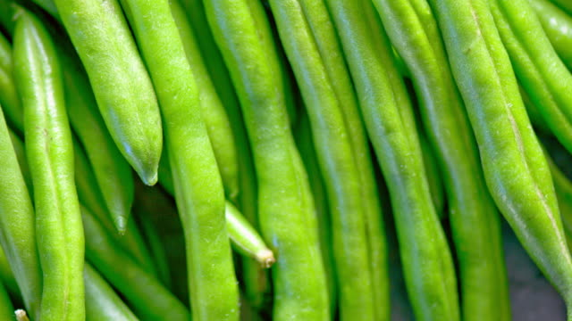 Fresh Green Bean close up