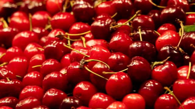 ECU PAN Fresh red cherries / Barcelona, Catalunya, Spain