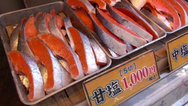 Fresh salmon sale
