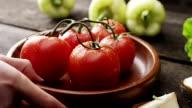 Frischen Tomaten