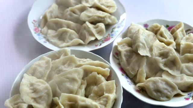 Freshly Cooked Chinese Dumplings