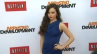 Freya Tingley at Netflix's Arrested Development Season Four Los Angeles Premiere 4/29/2013 in Hollywood CA