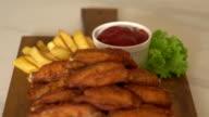 fried chicken wings