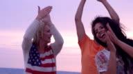 Friends Beach Dance Slow Motion