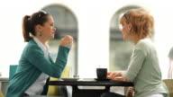 HD: Friends Having Coffee