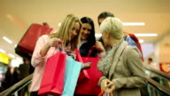 Friends in shopping