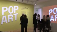 pop art is gracing the walls of Paris's Musee Maillol in Paris a chance for visitors to explore a number of works from the US