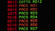 From bottom of Boxing category on lighted Odds board Pacquiao amp Cotto round 12 upward red amp green lights on various rounds Choices guide events...