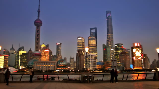 From The Bund to Shanghai bussiness district