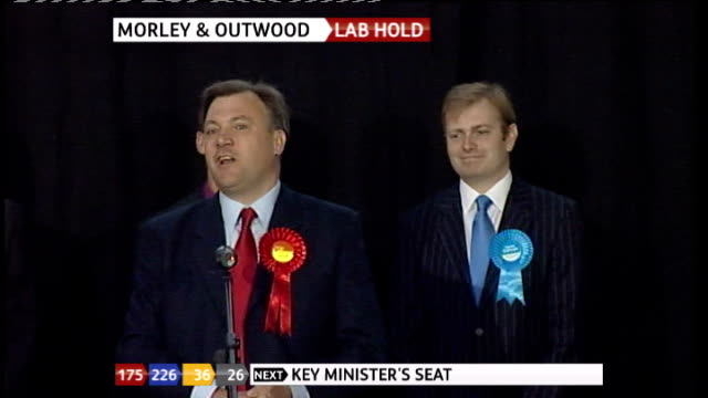 Ed Balls MP speech SOT Thanks staff / sorry for the cameras that they didn't quite get the moment they were looking for although I have to say it was...