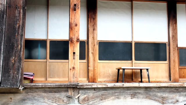Front of Japanese house