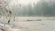 DOLLY HD: Congelato Fiume all'alba