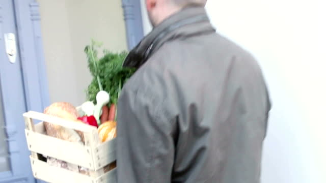 Fruit and Vegetable delivered to the door.