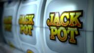 Fruitautomaat: Close-up: JACKPOT winnen