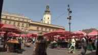 WS Fruits and vegetable market / Zagreb, Croatia