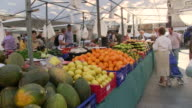 MS Fruits at market in Pollenca / Mallorca, Balearic Islands, Spain