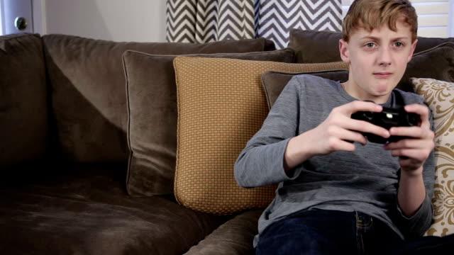 Frustrated Gamer Boy