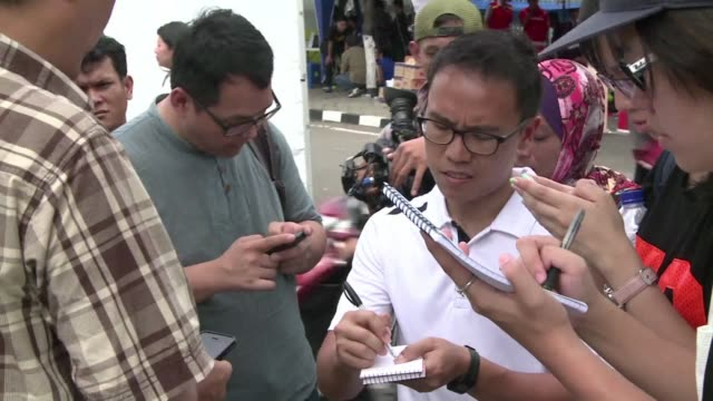 A frustrated relative of one of the passengers aboard the AirAsia Flight says they arent receiving any information from the Indonesian authorities