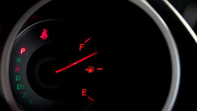 HD: fuel gauge fill gas