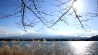 HD: Fujisan Landscape at kawaguchiko lake