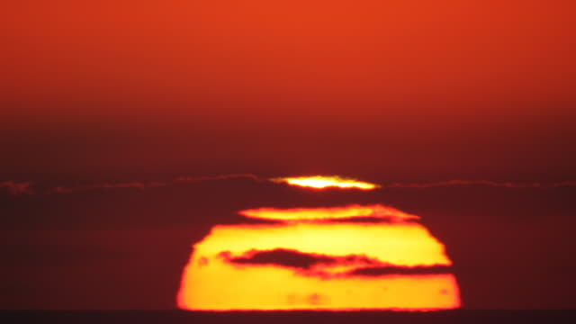 Full HD huge sunrise