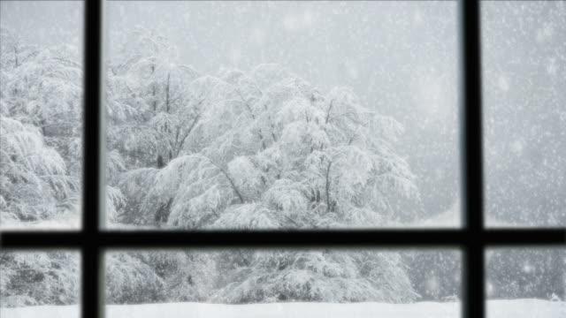 Full HD-PAL-Schnee fallen-Szene nahtlose Loop