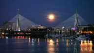 Full Moon in Boston
