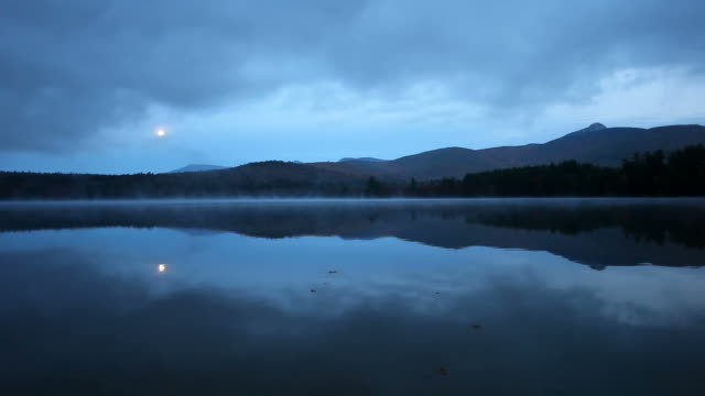 Full moon over Chocorua Lake