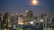 Full Moon Over The City