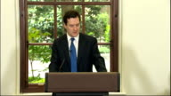 Full programme for coalition government unveiled ministerial speeches George Osborne MP speech SOT Thank you very much Vince The third principle that...
