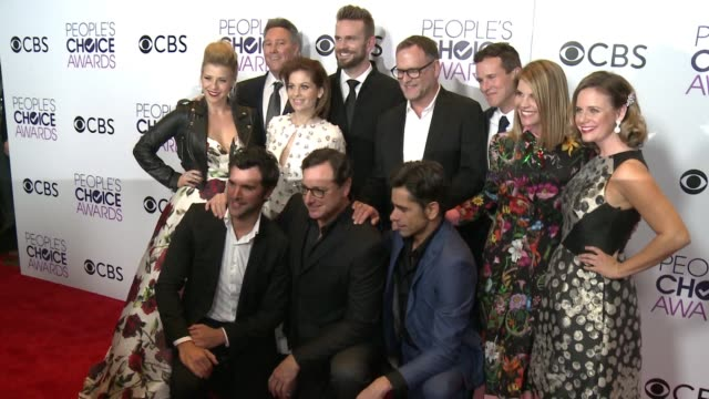 Fuller House Cast at the People's Choice Awards 2017 at Microsoft Theater on January 18 2017 in Los Angeles California