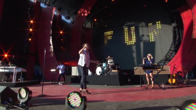 PERFORMANCE fun at 2014 Global Citizen Festival in Central Park at Central Park on September 27 2014 in New York City