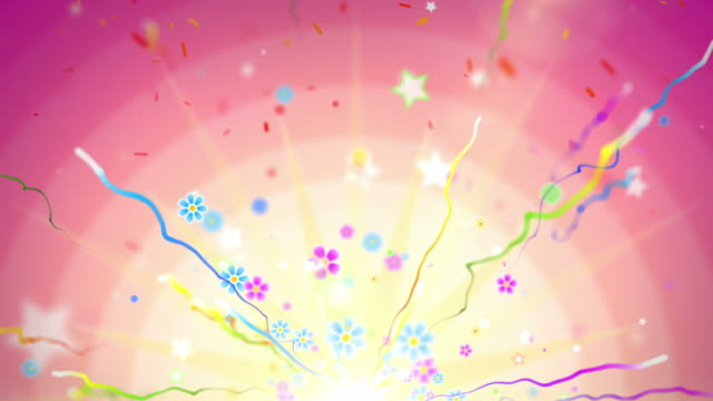 Fun Celebration Background - Party Tropical (Full HD)