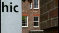 Tunbridge Wells West Kent Homeopathic Hospital EXT Hospital building and sign