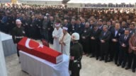Funeral ceremony for Turkish specialized corporal Emre Mucahit Topal martyred in Operation Euphrates Shield near the Daeshheld city of AlBab in...