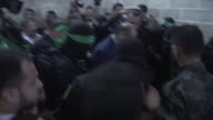 Funeral ceremony held for Hamas official Mazen Faqha in Gaza City Palestine on March 25 2017 Faqha was assassinated by unidentified attackers in the...