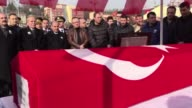 Funeral ceremony held for Turkish Army specialist corporal Umut Aytekin martyred in Operation Euphrates Shield during fighting against DAESH...