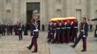 Funeral Chapel for Carlos de Borbon Dos Sicilias second cousin of King Juan Carlos and Duke of Cantabria