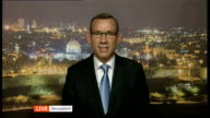 Funerals of three murdered teenagers ENGLAND London GIR INT Mark Regev LIVE interview from Jerusalem SOT