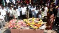 Funerals took place on Friday of some of the victims of twin bicycle bombings in Hyderabad India on Thursday that killed 16 people CLEAN Hyderabad...