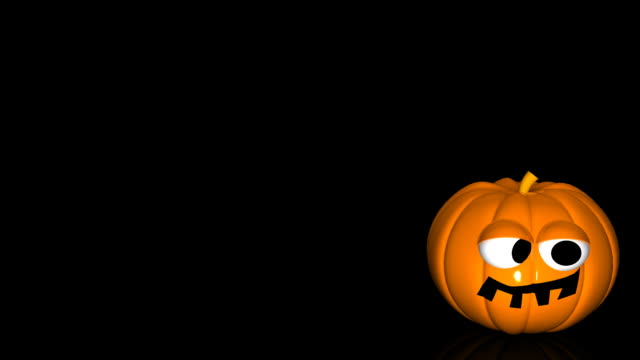 3D Funny Halloween Pumpkin