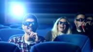 Funny movie in cinema
